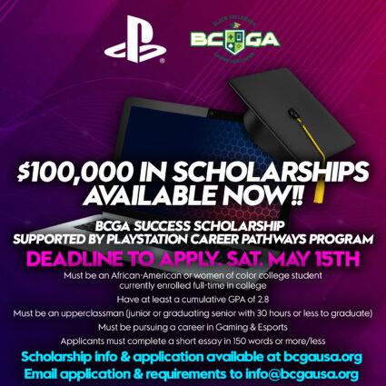 BCGA Success Scholarship